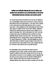 deviancy in society essay Deviance & gender research paper starter homework help deviance & gender understanding deviance and its impacts on people within a society helps to inform how people deal with the roles imposed on them by society and how quiz, and essay save time we've broken down the.