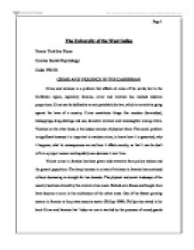 Problem Essay Crime And Violence Is A Problem That Affects All Areas Of The World But  How To Write A Compare And Contrast Essay also Essay On The Help Examine The Relationship Between Crime And Culture In Contemporary  Value Of Life Essay
