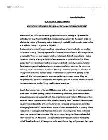 Critically examine essay