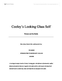 looking glass self theory essay