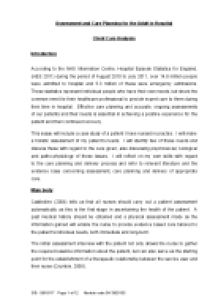 assessment and care planning for the adult in hospital this essay  page 1 zoom in