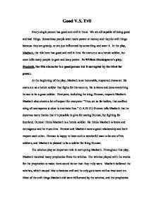 beowulf essay good vs evil