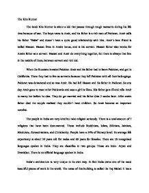 Kite Runner Essay Help  The Kite Runner Thesis Statements Kite Runner Essay Help