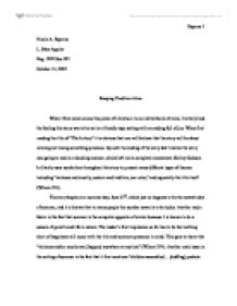 essay on symbolism in the lottery The use of symbolism in the lottery by shirley jackson essay :: 1 works cited  length: 1179 words (34 double-spaced pages) rating: purple open document.